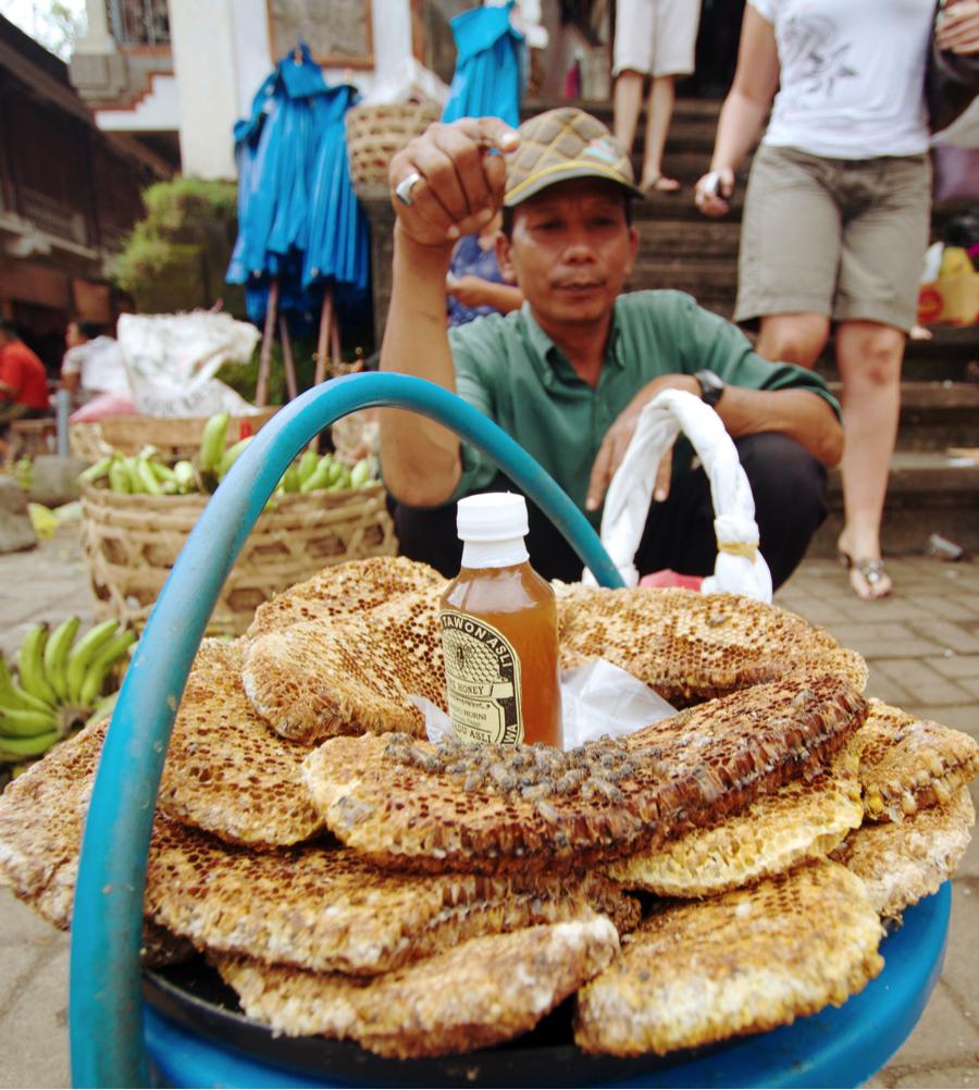 market honeycomb