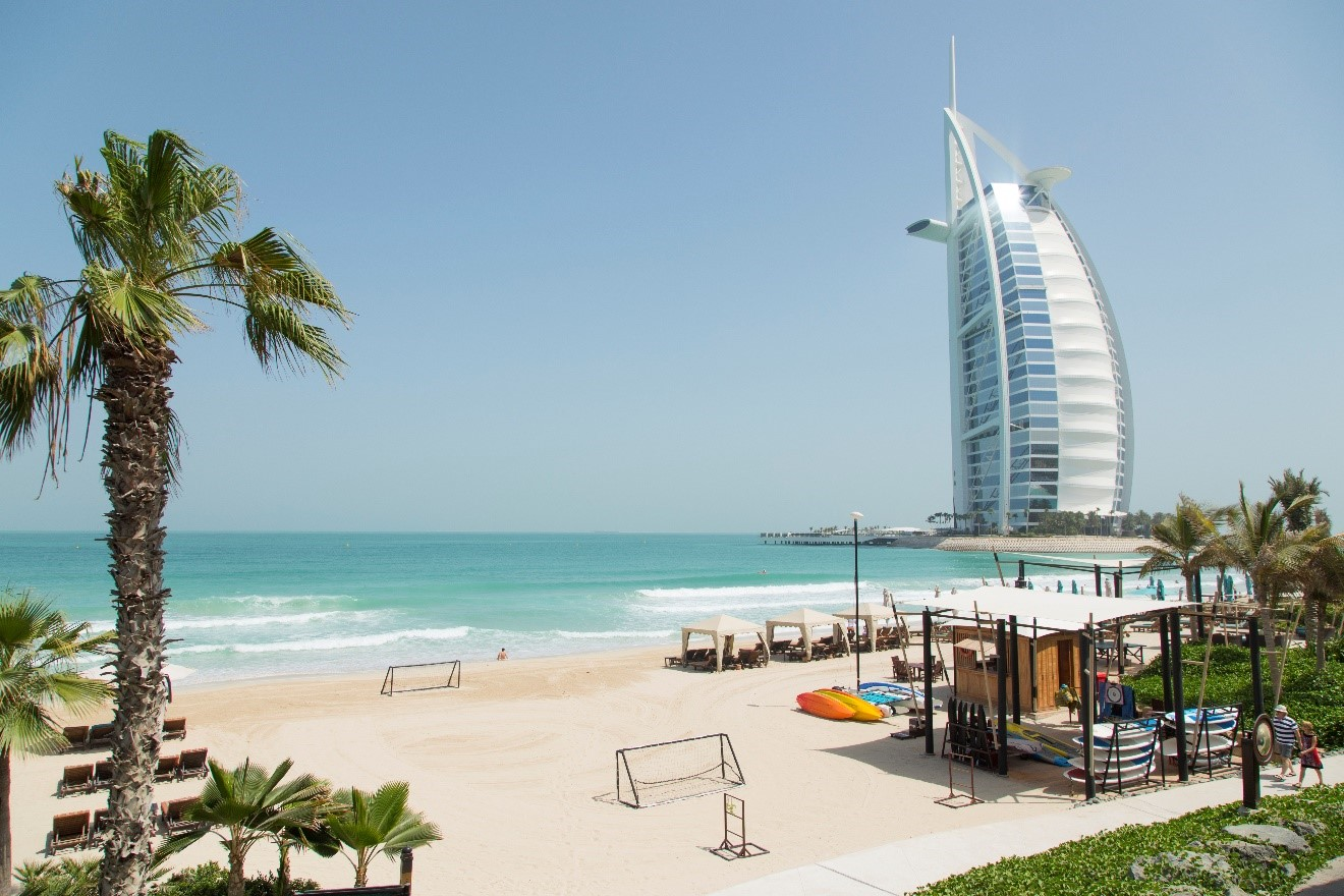 a photo of Burj al Arab, the sail building of dubai